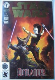 Star Wars #12 Dynamic Forces DF Gold Foil Variant COA Outlander